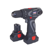 Cordless Drill/Driver Ø10mm 14.4V 2Ah Lithium-ion 10mm 2-Speed Motor - 2 Batteries 40min Charger.